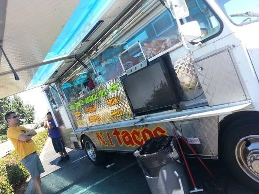 El Grullito's tacos al pastor are a local favorite.